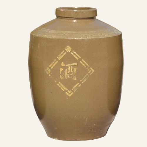 土陶储酒缸